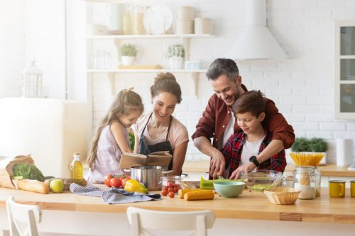 Le buone abitudini hanno inizio in famiglia!