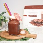 Milkshake banana e cioccolato